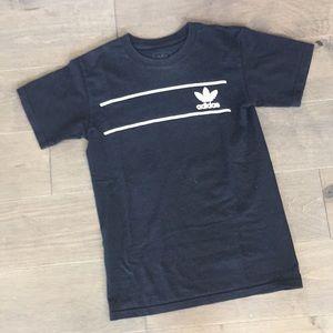 Adidas, black tee, XS